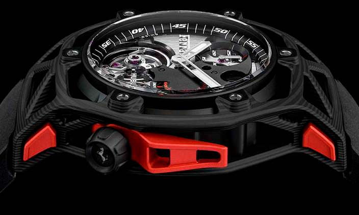 Часы с таймером Ferrari