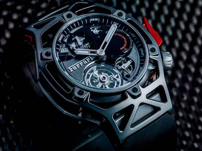 Часы с турбийоном Hublot Ferrari