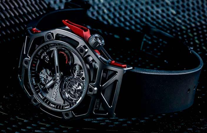 Уникальные часы Hublot Ferrari