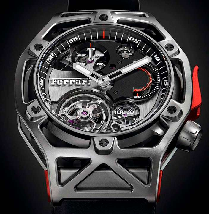 Hublot Techframe Ferrari Tourbillon