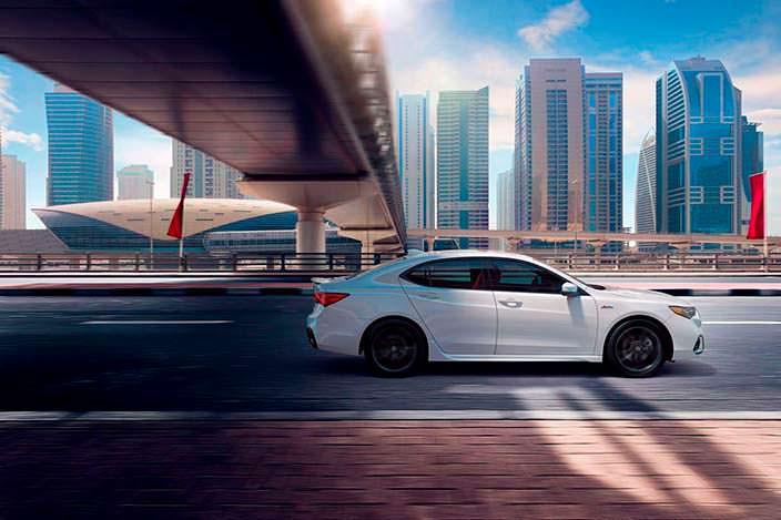 Фото   Рестайлинг Acura TLX 2018 года