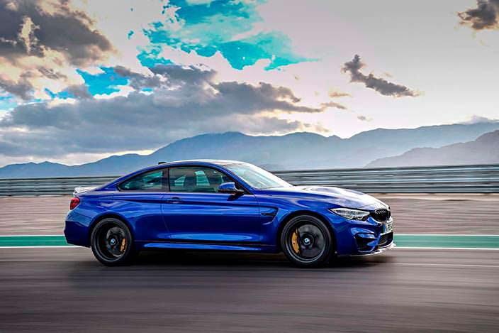 Фото | Новая BMW M4 CS цвета Frozen Dark Blue II