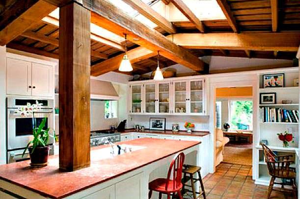 Фото | Дизайн кухни виллы Мэрилин Монро