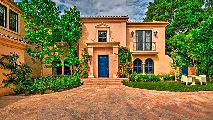 Дом Тори Спеллинг в Энсино, Лос-Анджелес