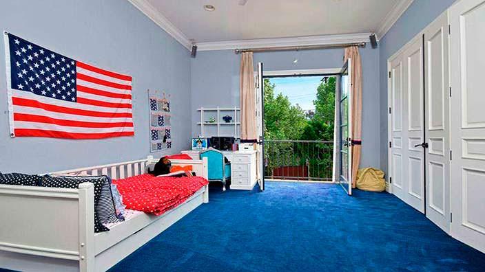 Фото | Дизайн интерьера детской комнаты в доме в Энсино