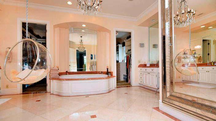 Фото | Спальня с гардеробом и ванной комнатой