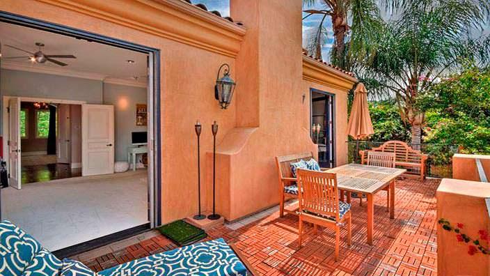 Фото | Балкон дома в средиземноморском стиле