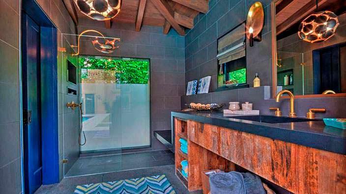 Фото | Дизайн ванной в средиземноморском стиле