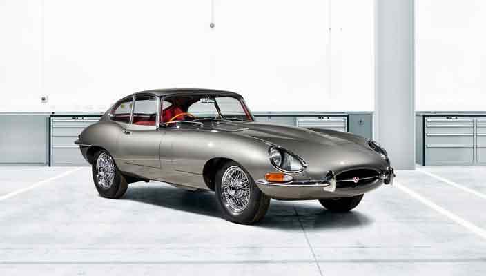 Jaguar E-Type Reborn: классический спорткар из 1960-х   фото