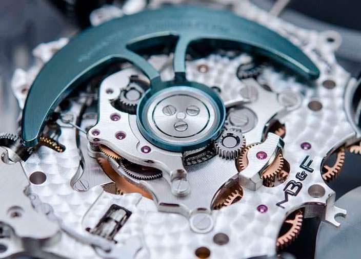 Фото   MB&F HM6: часовая механика
