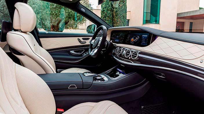 Фото салона Mercedes-AMG S63 2018