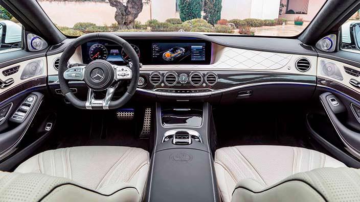 Фото | Салон Mercedes-AMG S63 2018