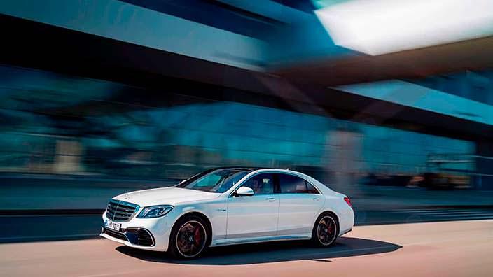 Фото | Рестайлинг Mercedes-AMG S63 W222
