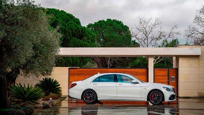 Новый Mercedes-AMG S63 W222