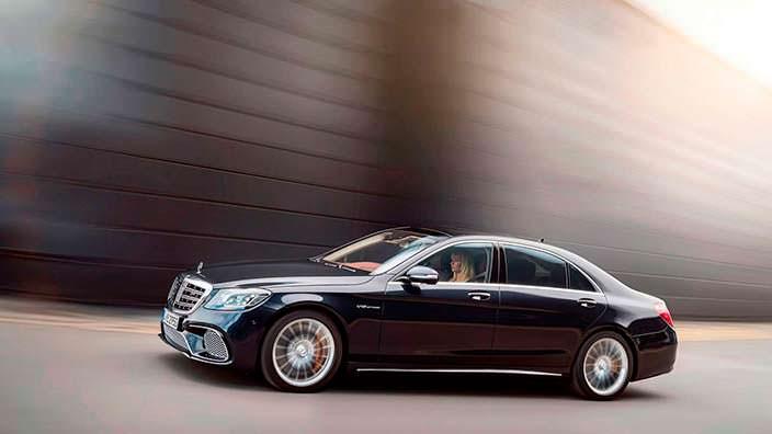Новый Mercedes-AMG S65