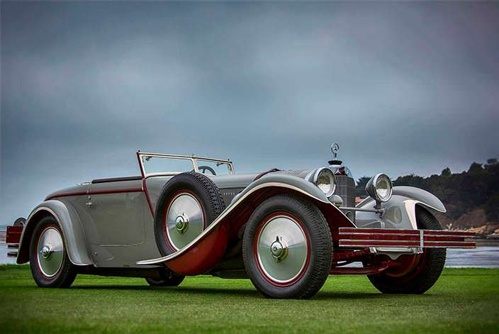 Фото | 1 из 3 Mercedes-Benz 680 S Torpedo Roadster 1928 года
