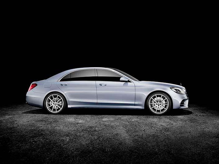Новый Mercedes-Benz S-Class 2018 года