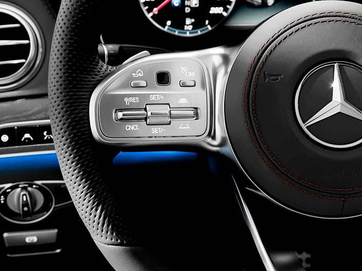 Кнопки руля Mercedes-Benz Мерседес S-Class 2018 года