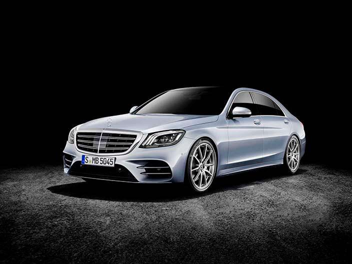 Рестайлинг Mercedes-Benz S-Class 2018 года
