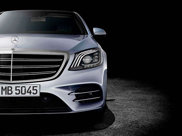 Новые фары Mercedes-Benz Мерседес S-Class 2018 года