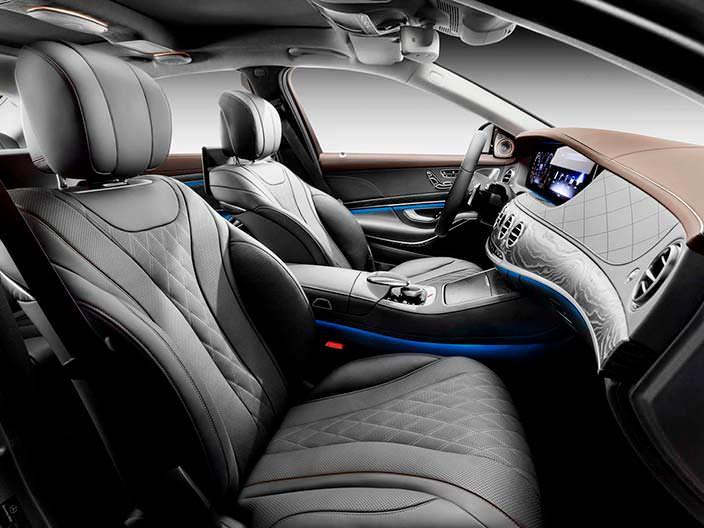 Интерьер Mercedes-Benz Мерседес S-Class 2018 года
