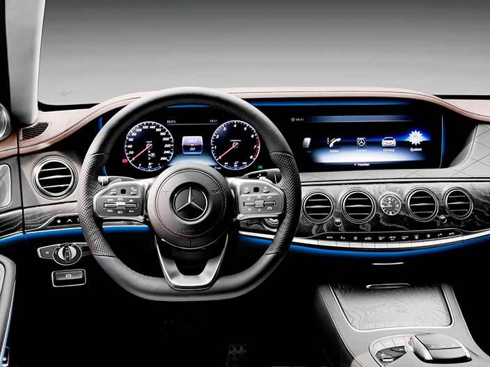 Новый руль Mercedes-Benz Мерседес S-Class 2018 года