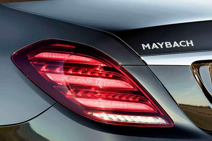 Задние фонари Mercedes-Maybach S-Class 2018