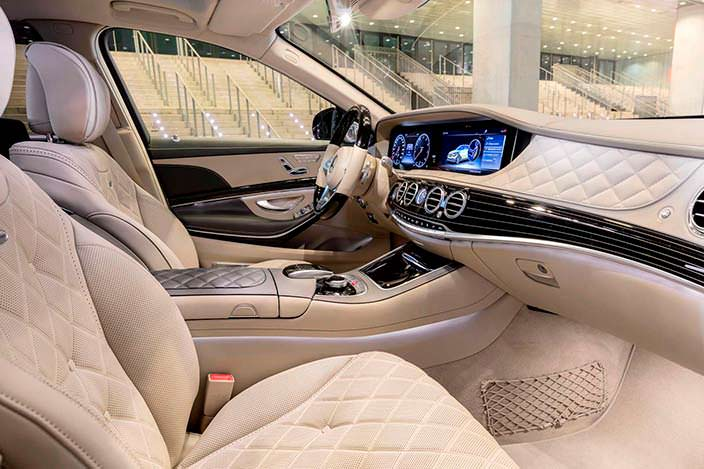 Фото салона Mercedes-Maybach S-Class 2018