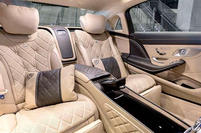 Задние сиденья Mercedes-Maybach S-Class 2018