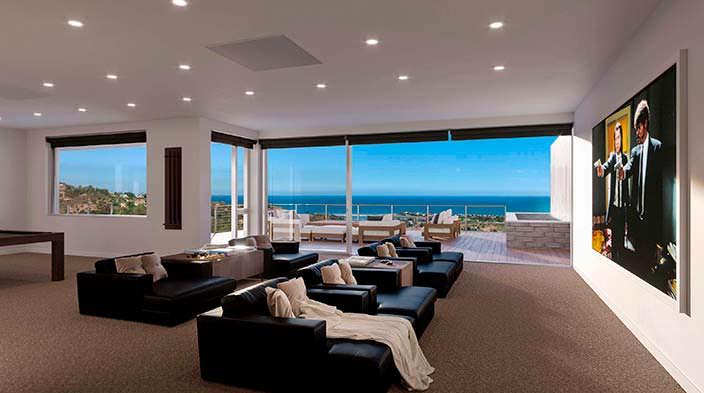 Фото   Панорамная терраса с видом на залив Санта-Моники