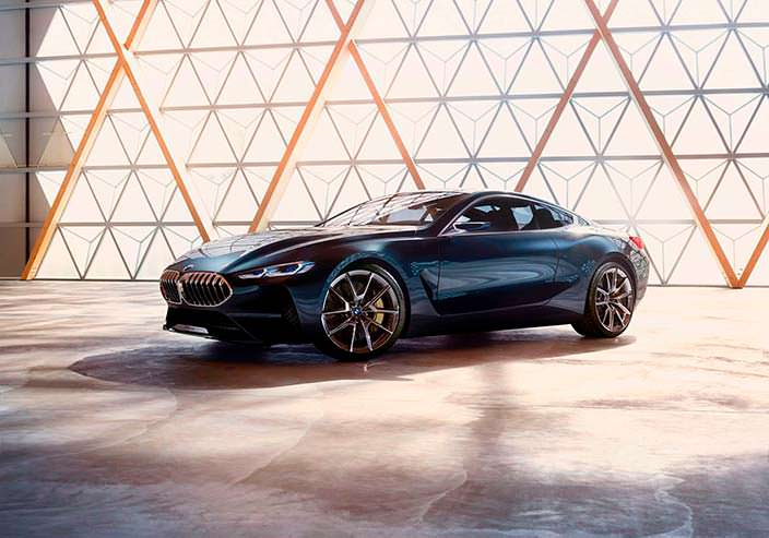 Новая BMW 8-Series Coupe. Концепт 2017 года