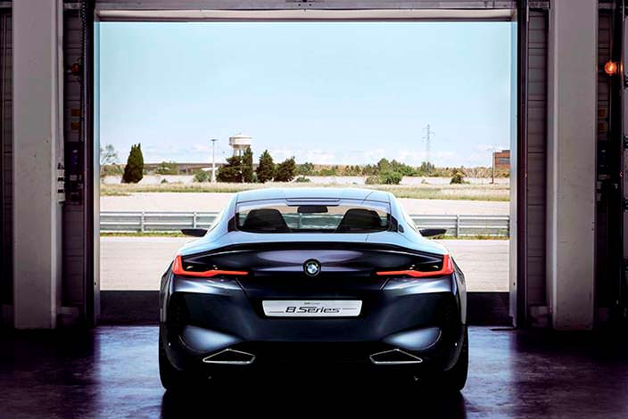 Фото | BMW 8-Series Coupe 2017 года
