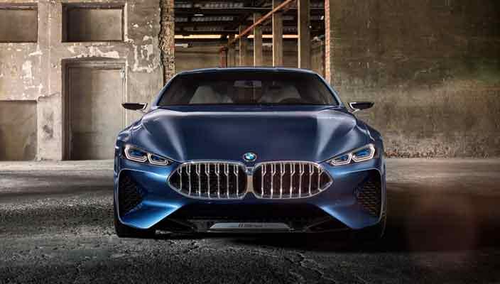 Стильное купе BMW 8-Series возвращается   фото, видео