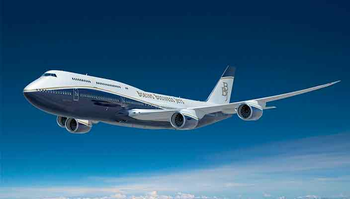 Бизнес-джеты Boeing получат панорамные иллюминаторы   фото