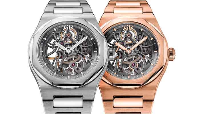 Вышли новые часы-скелетоны Girard-Perregaux   цена, инфо