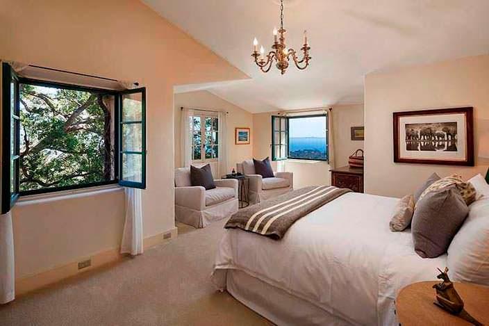Уютная спальня в пастельной палитре