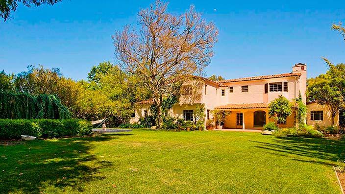 Дом в испанском стиле Тома Хэнкса и Риты Уилсон в Калифорнии