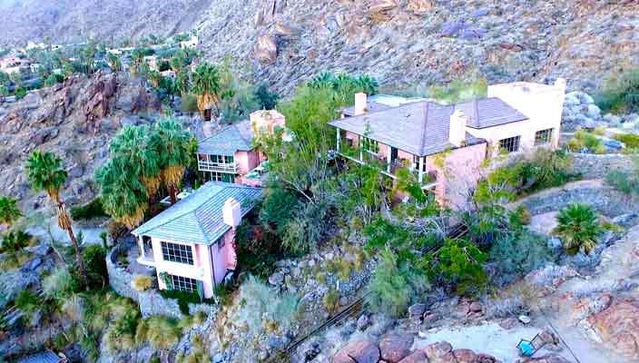 Продается дом в горах с бассейном Сьюзан Сомерс   фото, цена