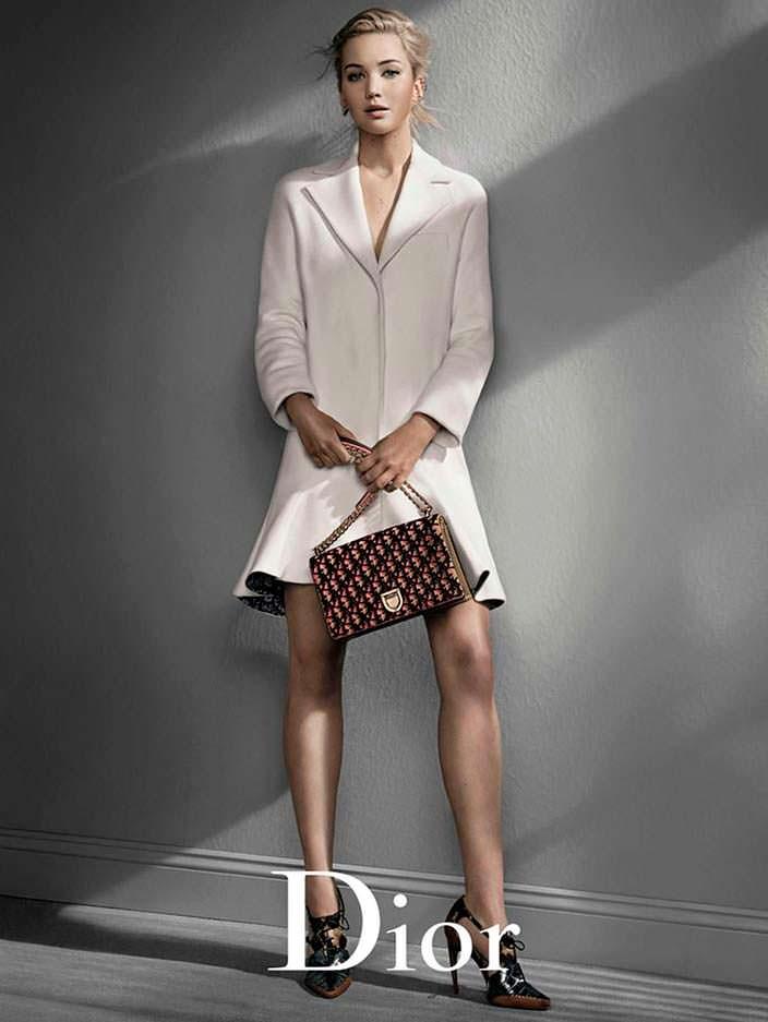 Фото   Дженнифер Лоуренс для Dior в 2017 году