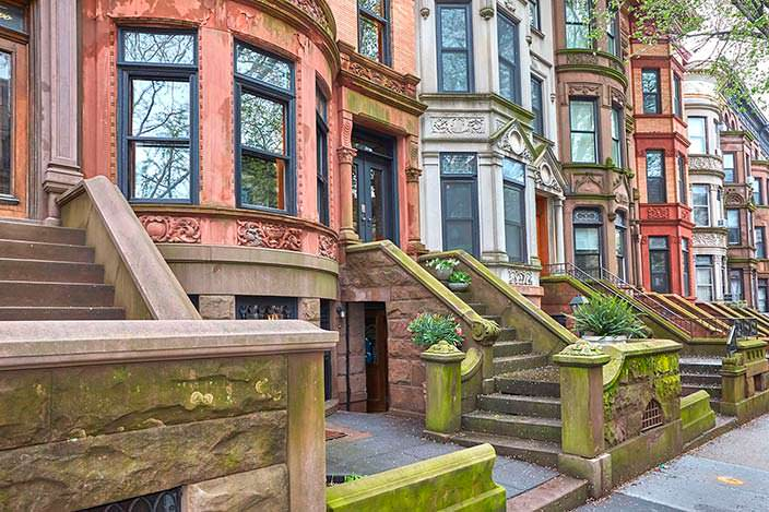 Фото   Квартира в Бруклине, которую снимал Барак Обама
