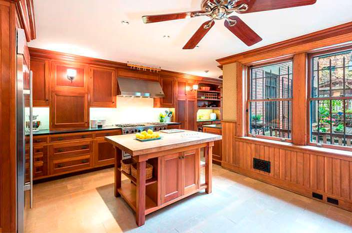 Фото   Кухня в доме 1903 года постройки в Бруклине