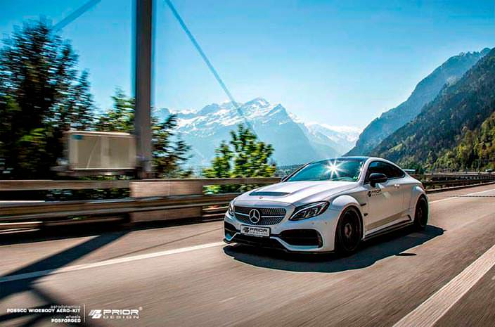 Фото | Тюнинг Mercedes-AMG C63 Coupe от Prior Design