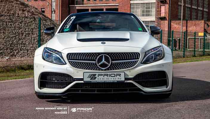 Новый тюнинг Mercedes-AMG C63 Coupe от Prior Design | фото