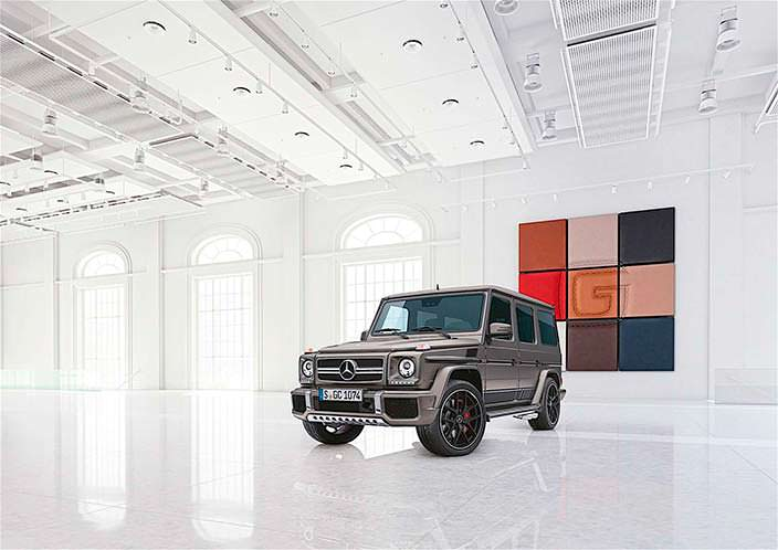 Фото | 2017 Mercedes-Benz G-Class Exclusive Edition