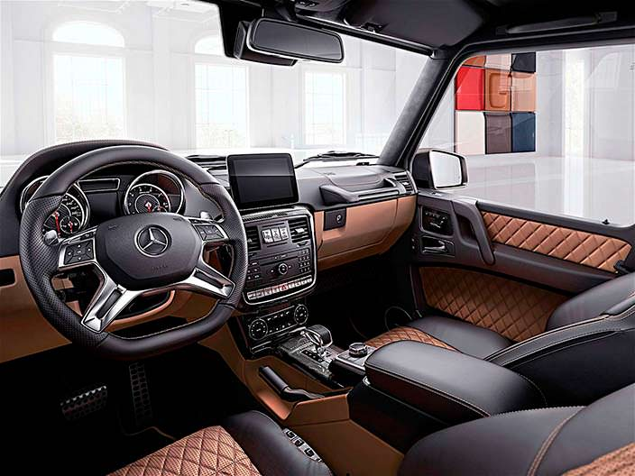 Фото салона Mercedes-Benz G-Class Exclusive Edition