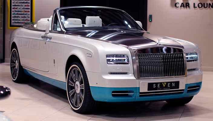 Последний кабриолет Rolls-Royce Phantom продается в Дубае