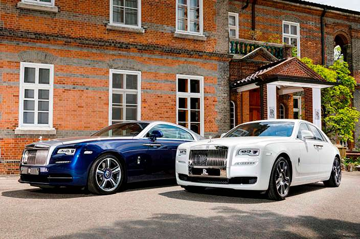 Фото | Rolls-Royce Ghost и Wraith для Южной Кореи