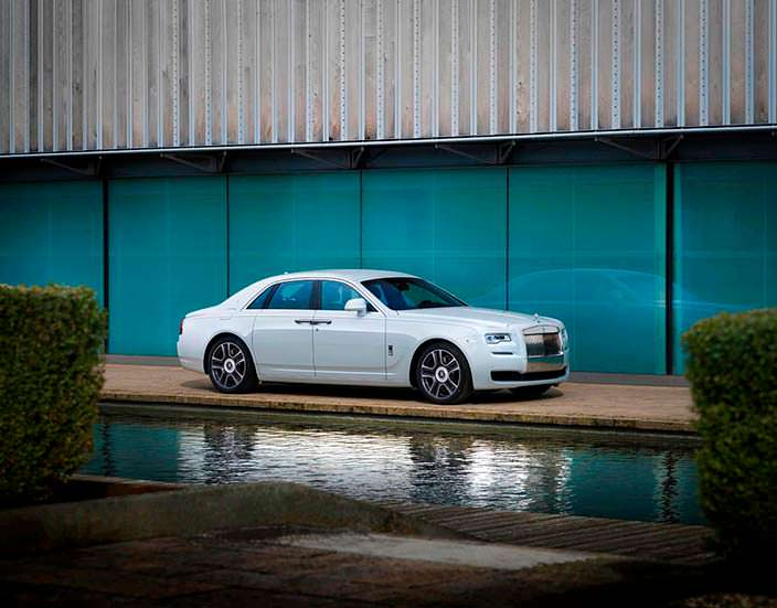 Седан Rolls-Royce Ghost Seoul Edition