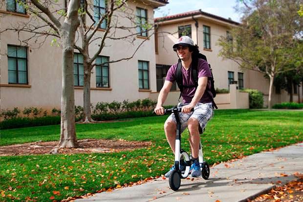 Электро-велосипед Smacircle S1: максимальная скорость 20 км/ч