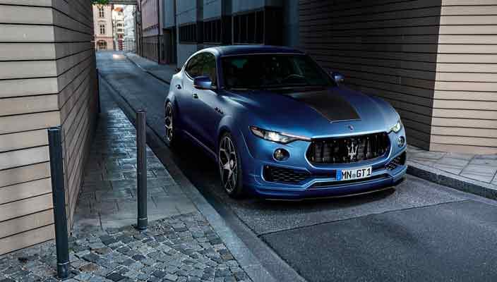 Тюнинг Maserati Levante Esteso: официально от Novitec   фото